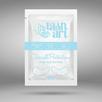 25 50 100 Pairs Eyelash Extension Under Eye Pads Gel Pad Lint Free Patches Comfy