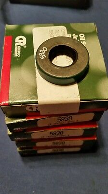 CR 5830 Oil Seals 15x32x7 15mm ID, 32mm OD, 7mm Thick Chicago Rawhide