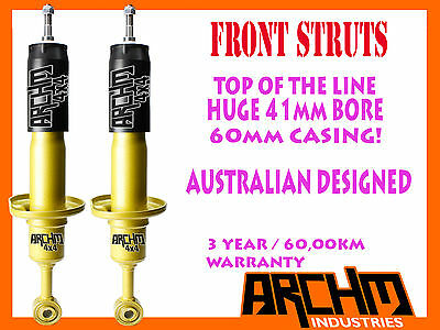 MAZDA BT-50 11/2011-ON 4WD FRONT 41mm BORE FOAM CELL ARCHM4x4 SHOCK ABSORBER