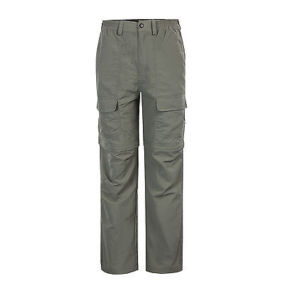 Men's Slim Fit Fishing Quick Dry Pants Sunscreen Trousers Removable Leg Shorts