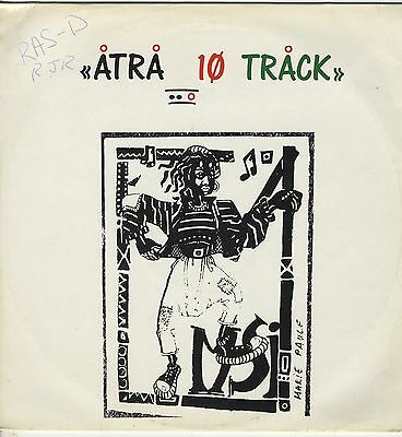 Various ‎– Atra 10 Track ORIG UK LP 1988 NEAR MINT / VG ROOTS