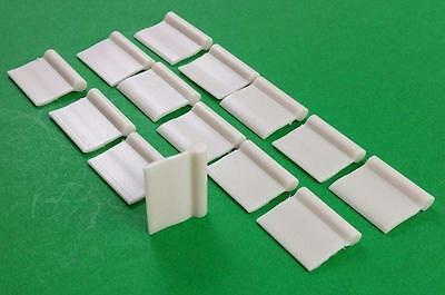 Sew In Curtain Tabs Hangers 14 Pack RV Motorhome JR Products 81285