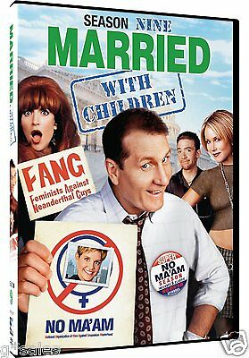 Married with Children - Complete Ninth Season 9 Nine ~ BRAND NEW 2-DISC DVD SET