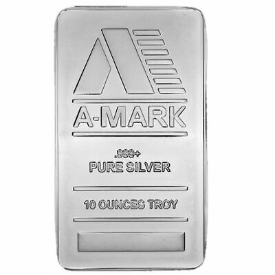 ON SALE! 10 oz A-Mark Silver Bar (New)