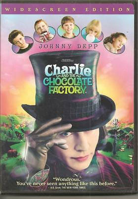 Charlie and the Chocolate Factory (Widescreen Edition) [DVD]
