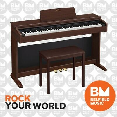 Casio Celviano AP260 Digital Electronic Piano Brown 88 Key Cabinet w/ Bench
