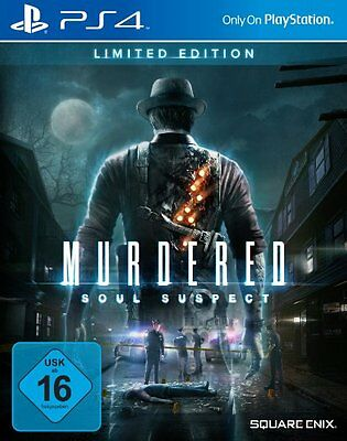 Murdered Soul Suspect Limited Editon - PS4 Playstation 4 Spiel - NEU OVP - UNCUT