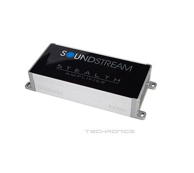 Soundstream St4.1000D 500 Watts Compact 4-Channel Motorcycle Car Audio Amplifier