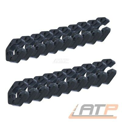 20x 12mm FEDERWEGSBEGRENZER CLIP-ON CLIP BMW E30 E32 E34 E36 E39 E46 E90 E81 E87