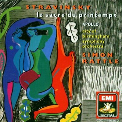 Stravinsky - The Rite Of Spring / Apollo -  CD KTVG The Cheap Fast Free Post The