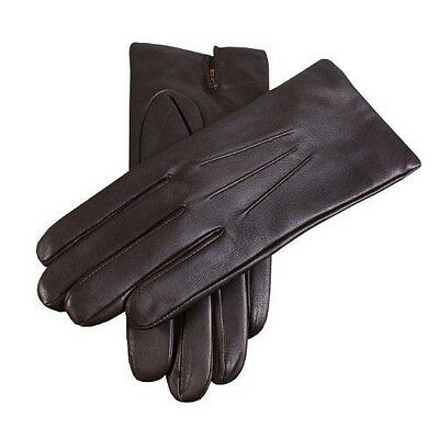 Dents Gants Homme - Marron - Marron - FR : 8 (Taille fabricant : Size 8 NEUF