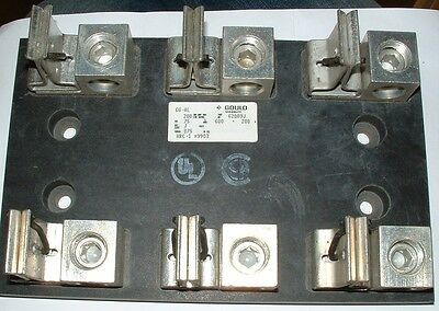 heavy duty class j fuse holder 3 pole 200A Marsen Gould Ferraz Shawmut