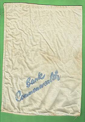 #D24. Old Commonwealth Bank Of Australia Money Bag