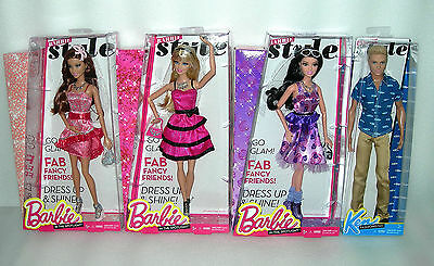 Barbie and friends In The Spotlight Fashion Style Doll - Assorted - BNIP