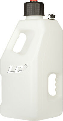 LC2 MX ATV Utility 5 Gallon Fuel Gas Can Jug WHITE 30-1190
