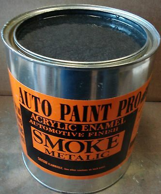 Smoke Met acrylic enamel single stage restoration auto body shop car paint