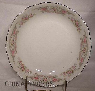"""STYLE HOUSE china POMPADOUR pattern Set of Two Soup/Salad Bowls @ 7-5/8"""""""