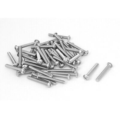 M4x30mm Butterfly Wing Screw Bolt 0.7mm Step Carbon Steel Fasteners 20pcs