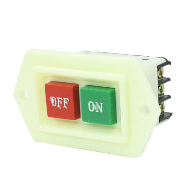 LC3-5 Red Green On-Off Start Stop Push Button Switch 2KW 220V AC