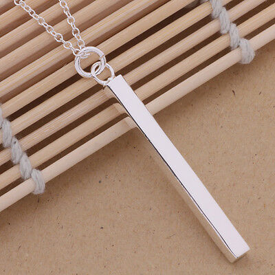new gift Silver Plated  fashion Charms pendant party women Necklace P222