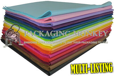 Coloured Acid Free Tissue Paper - High Quality Soft Gloss 18gsm MG - 500x750mm