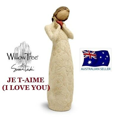Willow Tree JE TAIME I LOVE YOU Figurine By Susan Lordi By Demdaco NEW IN BOX