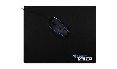 ROCCAT Taito Mid-Size 5mm Shiny Black Gaming Mousepad Mauspad PC Computer Gamer