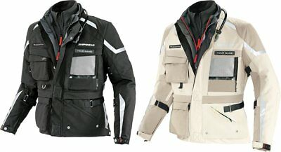 Spidi Sport Mens Ergo 365 Expedition H2Out Armored Textile Jacket