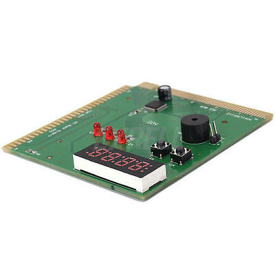 4-Digit PC Motherboard Diagnostic Post Card PCI ISA Analyzer Tester Checker