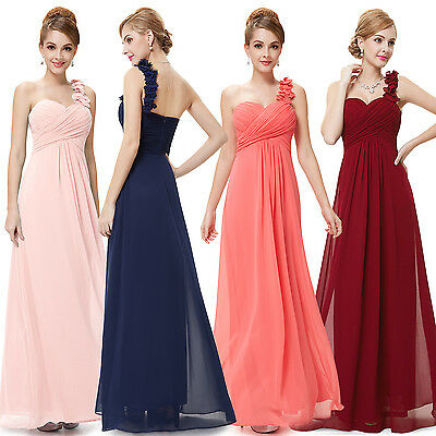 Ever-Pretty Bridesmaid Long Prom Gown Formal Evening Party Wedding Dress 09768