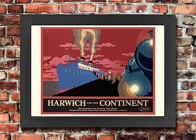 1930S VINTAGE BRITISH Travel Holiday Transport Posters x3