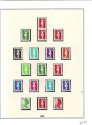 France - Mnh Collection 1990 - 1997 Cv £1200+ - See Scans