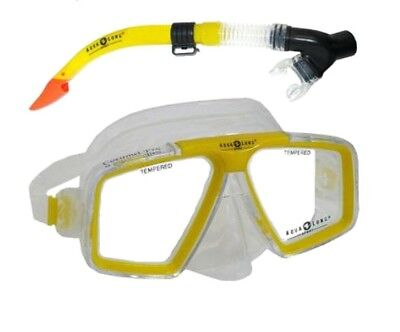 Original Aqua Lung SET COZUMEL PRO / DIEGO DRY  Set gelb