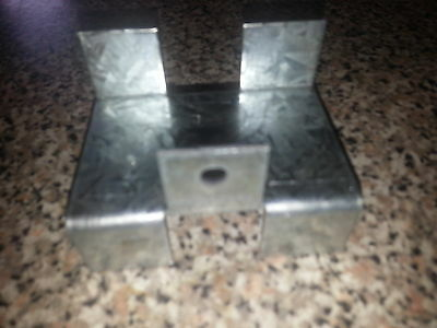 fence panel bracket clips 50 mm concrete gravel board prevent panels bowing