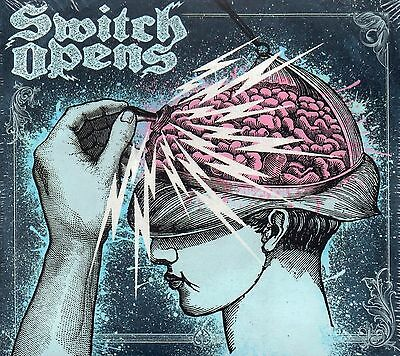 Switch Opens - Switch Opens (2009 CD) Digipak (GMR Sweden) New & Sealed