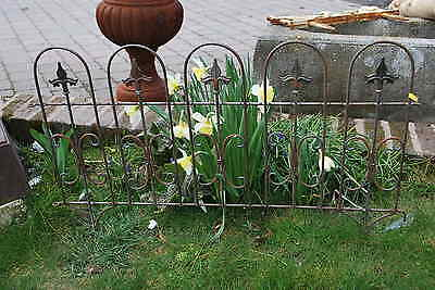 Bordure barriere de jardin en fer forge eur 20 00 picclick fr for Barriere en fer forge