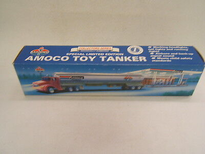 Amoco Tanker Truck Collector Series lights/sounds Limited Edition Numbered 1994