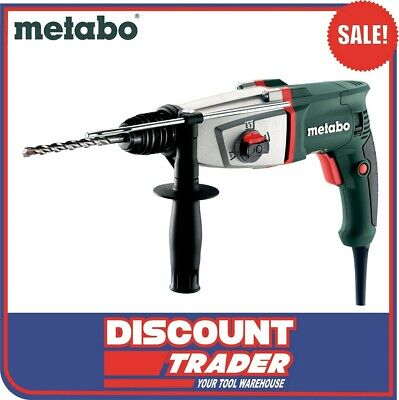 Metabo SDS+ 800W 3 Mode Electronic Combination Rotary Hammer Drill - KHE 2644