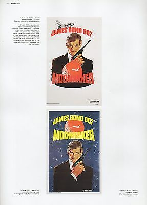 "2002 Vintage JAMES BOND /""THUNDERBALL/"" BRITISH MINI POSTER Art Plate Lithograph"