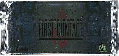 Star Trek First Contact Widevision Factory Sealed Trading Card Pack