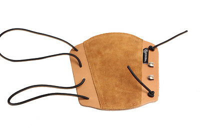 ArcheryMax Handmade Traditional Target Hunting Leather Arm Guard FOR LONGBOW