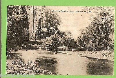 #G.    Postcard -  Rankin's Bridge, Bathurst, Nsw