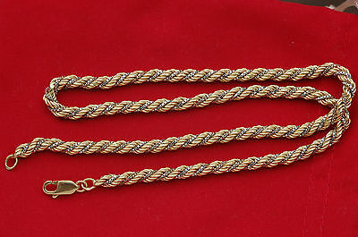 Beau Collier  Maille Torsadee   Or 18 Carats  - K -