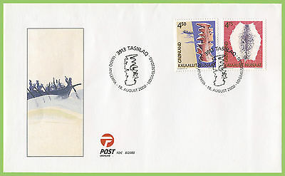 Greenland 2000 Cultural Heritage set First Day Cover