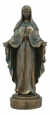 "Lady Madonna Virgin Mary With Welcoming Arms Statue 7""Tall Mother of Jesus"