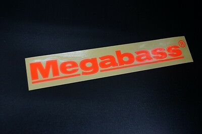 Megabass CUTTING STICKER 20cm #ORANGE