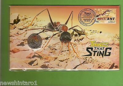 2014  Bull  Ant  Things That Sting   Pnc $1  Stamped Envelope