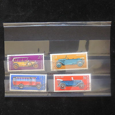U/d198 - Cars: 1973 - Russia - Fine Selection Of Stamps - Transport - Used