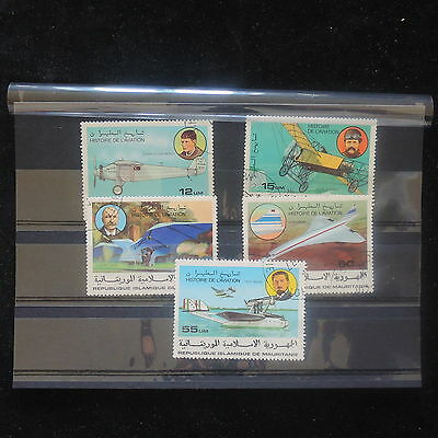 U/d329 - Aviation: Mauritania - Fine Stamps - Airplanes History - Concorde -Used