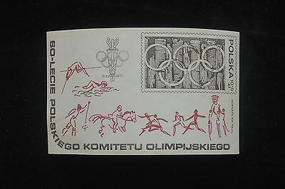 U/d485 - Olympic Games: 1979 - Poland - Fine Sheet- Horse Riding - Sports-Mnh **